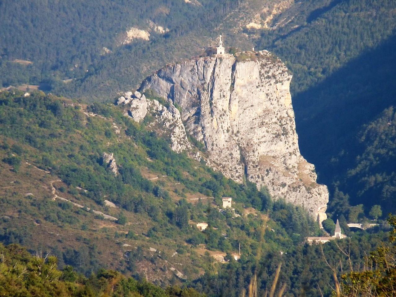 Castellane - Notre Dame du Roc