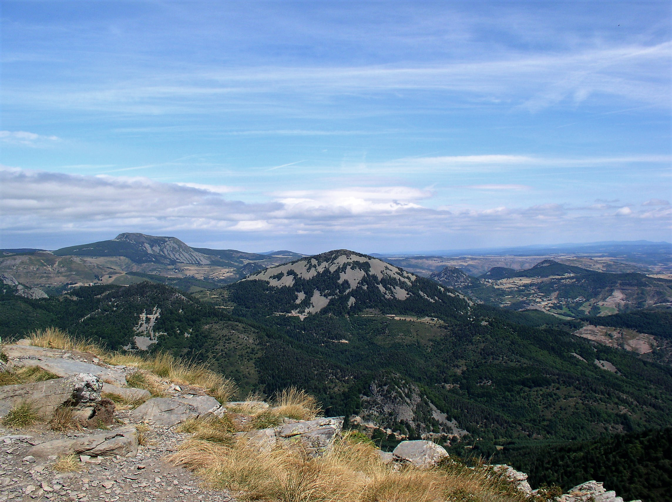 Vue du Mont Gerbier de Jonc