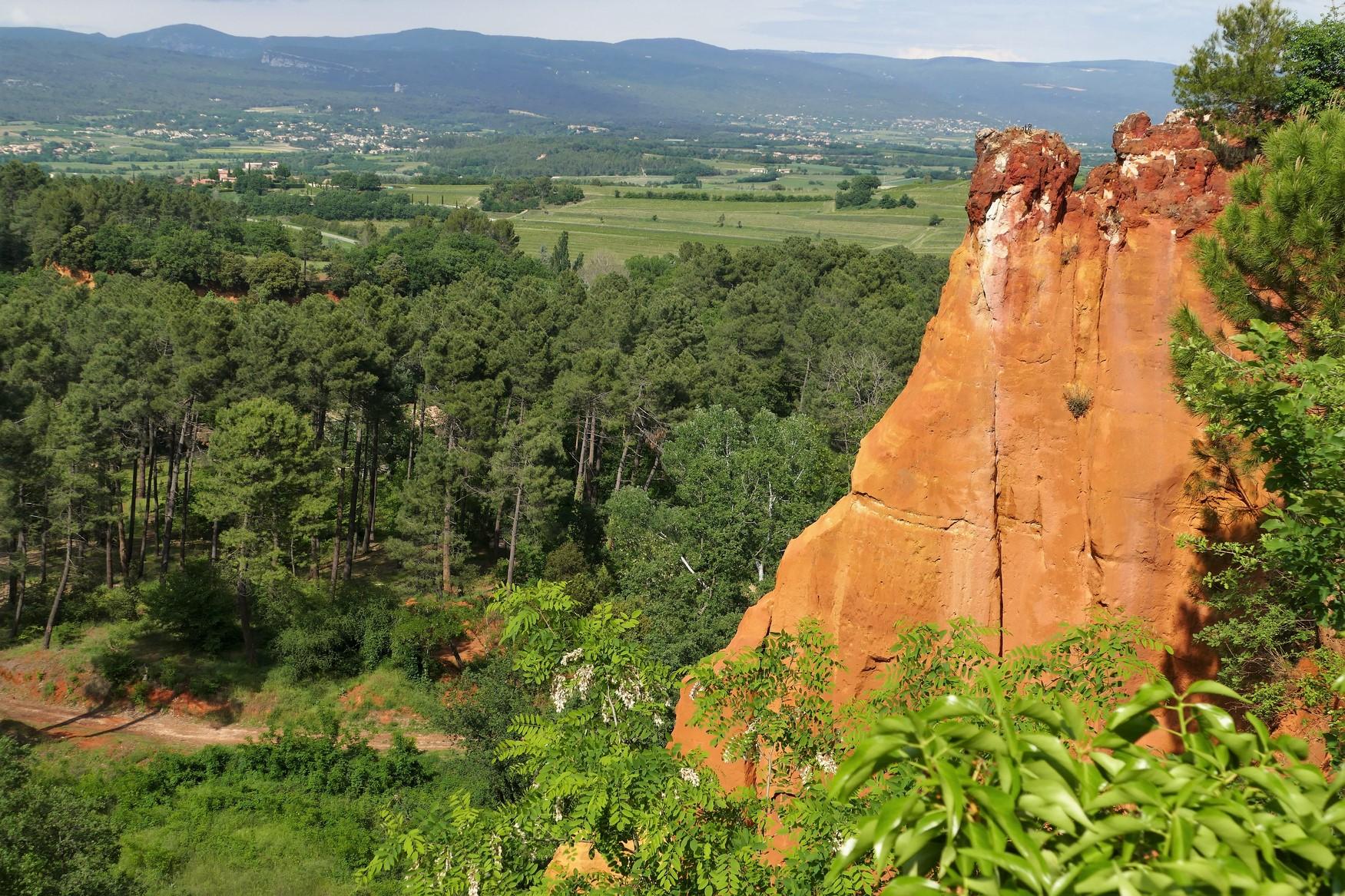 Roussillon (Vaucluse) - les Ocres